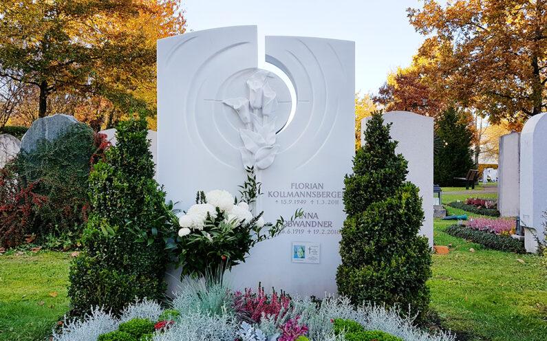 Vaterstetten Friedhof Familiengrab Kollmannsberger - 1