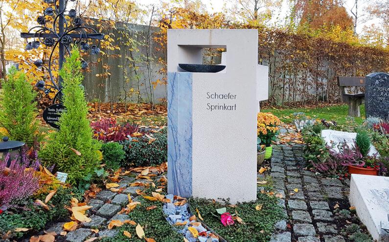 Vaterstetten Friedhof Urnengrab Schaefer - 1