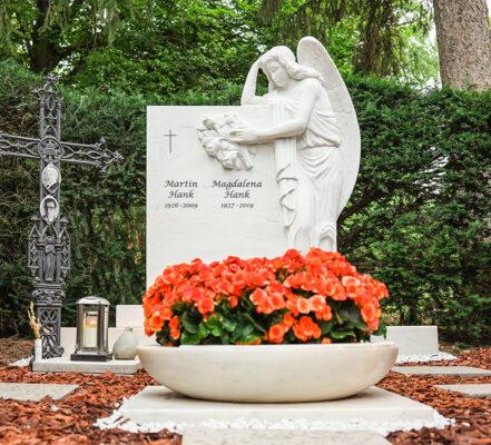 Wiesbaden Südfriedhof Familiengrab Hank
