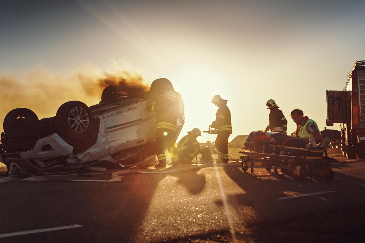 Kondulenzschreiben bei ein Unfall
