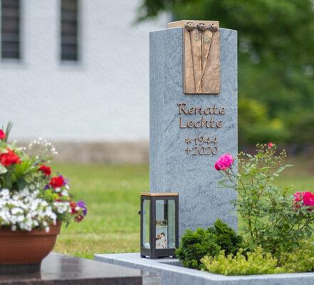 Walkenried Friedhof Einzelgrabstein Lechte